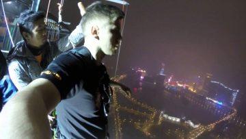 Прыжок с AJ Hackett Macau Tower