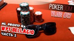 VLOG #17 NL_Profit на WPT Bellagio в Вегасе